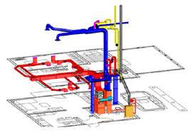 системы кондиционирования и вентиляции воздуха в здании