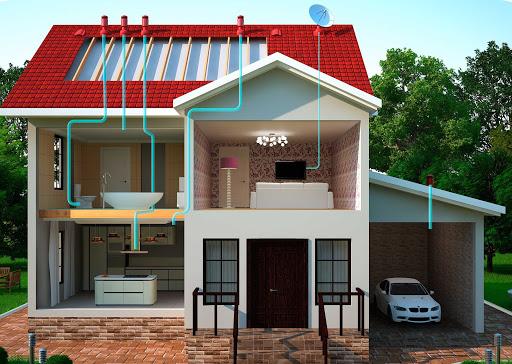 вентиляция в домах и коттеджах